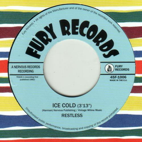 RESTLESS - Ice Cold // Long Black Shiny Car - 7""
