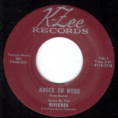 Rivieres - Knock On Wood // The Gypsy Said - 7""