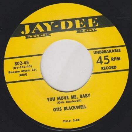 Otis Blackwell - You Move Me Baby - RnB repro 7inch