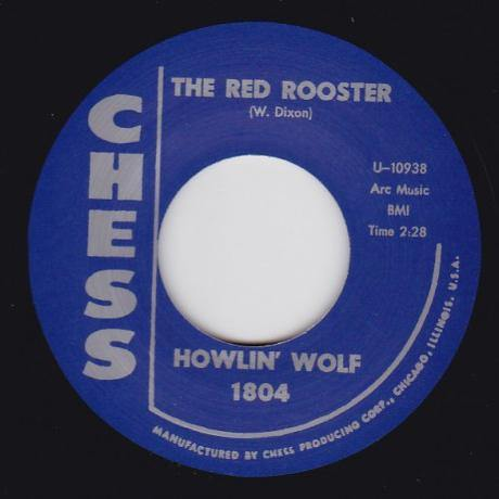 Howlin Wolf - Shake For Me // The Red Rooster - 7""