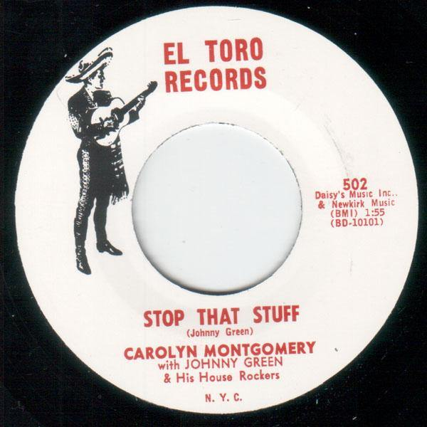 Carolyn Montgomery - Stop That Stuff - 7""