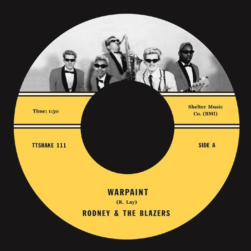 Rodney & the Blazers - Warpaint - 7""