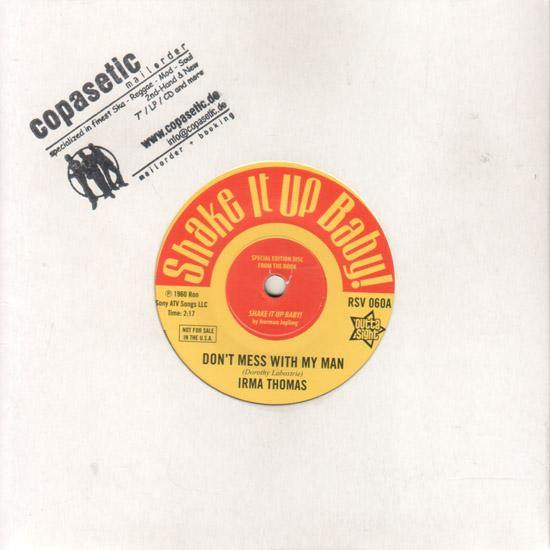 Irma Thomas - Don't Mess With My Man // Donnie Elbert - Wild Child - 7""