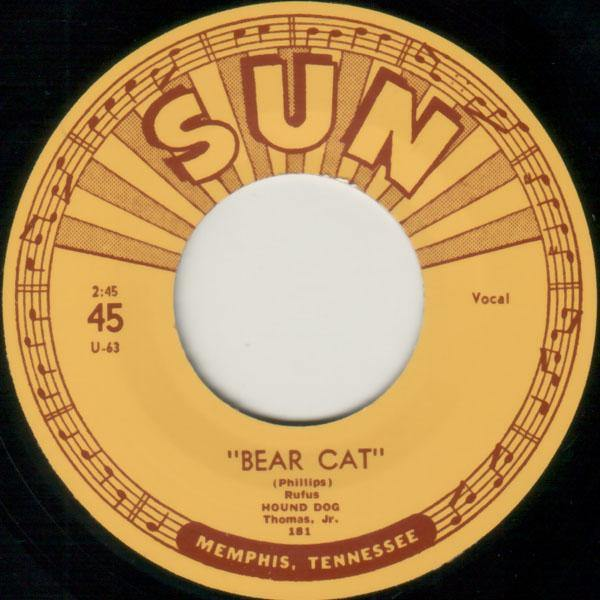Rufus Thomas Jr. - Bear Cat - 7""