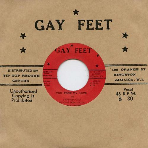 Patsy - You Took My Love - 7""