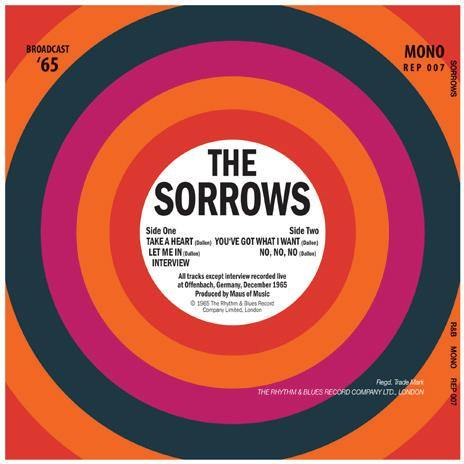 "The Sorrows - Broadcast '65 - 7""EP"