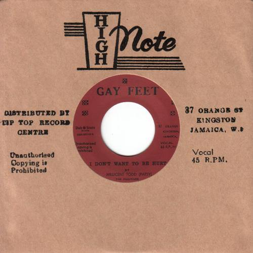 PATSY - I Don't Want To Be Hurt // STRANGER & PATSY - Certify My Love - 7""
