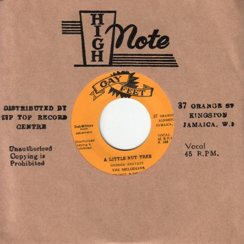 Melodians - A Little Nut Tree // You Are My Only Love - 7""