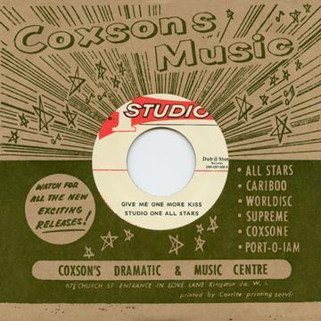 Studio One All Stars - Give Me One More Kiss // Don Drummond - Man In The Street - 7""