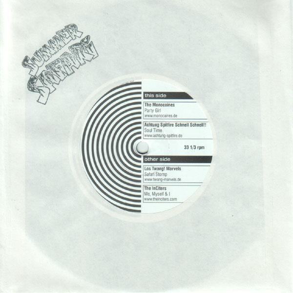 "Various - Summer Safari 5th Anniversary - 7"" EP"