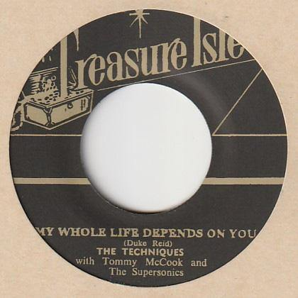The Techniques - My Whole Life Depends On You - 7""