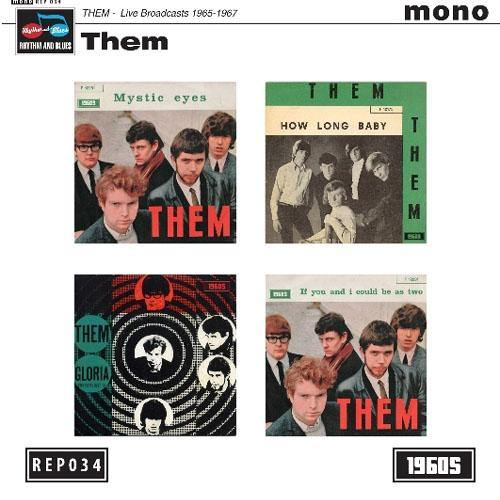 "Them - Live Broadcasts 1965-1967 - 7"" 4-track EP"
