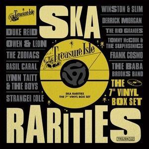 "Various - TREASURE ISLE SKA RARITIES - 10x7"" box"