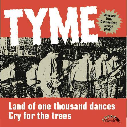 TYME - Land Of One Thousand Dances // Cry For The Trees - 7inch