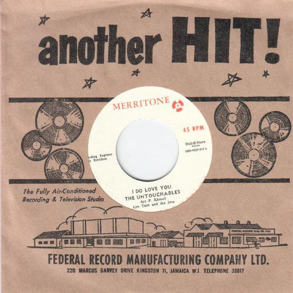 The Untouchables - I Do Love You - 7""