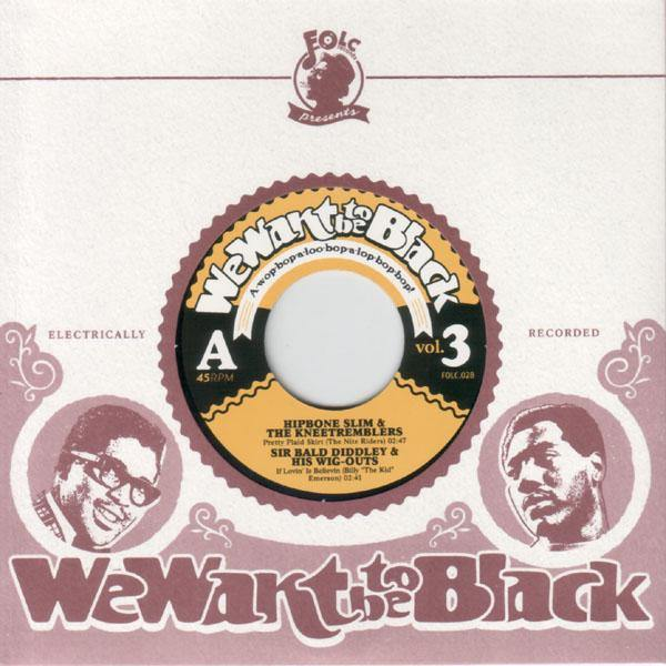 "Various - We Want To Be Black Vol.3 - 7""EP"