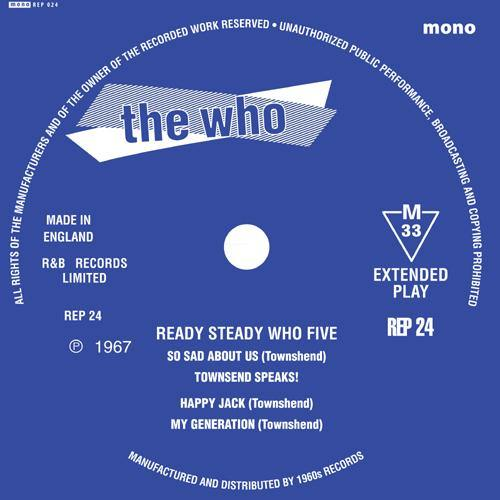 "The Who - Ready Steady Who 5 - 7""EP"