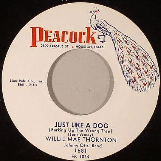 Willie Mae Thornton - Just Like A Dog // My Man Called Me - 7""