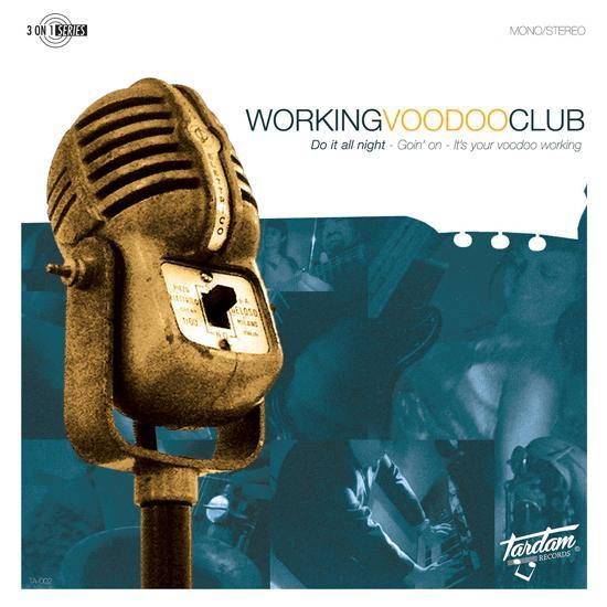 "Working Voodoo Club - Do It All Night - 7""EP"