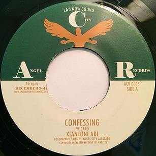 XIANTONI ARI - Confessing // Crazy Kind Of Love - 7""