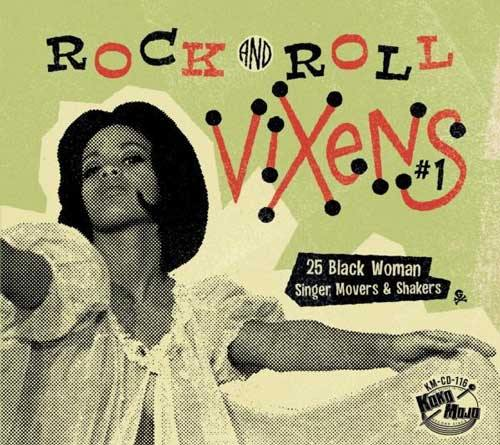Various - ROCK'n'ROLL VIXENS Vol.1 - CD