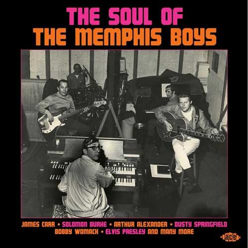 Various - THE SOUL OF THE MEMPHIS BOYS - CD