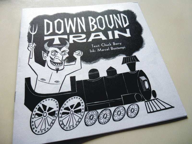 Marcel Bontempi - Down Bound Train - Booklet