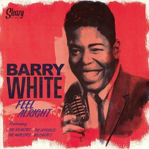 Barry White - Feel Alright - LP