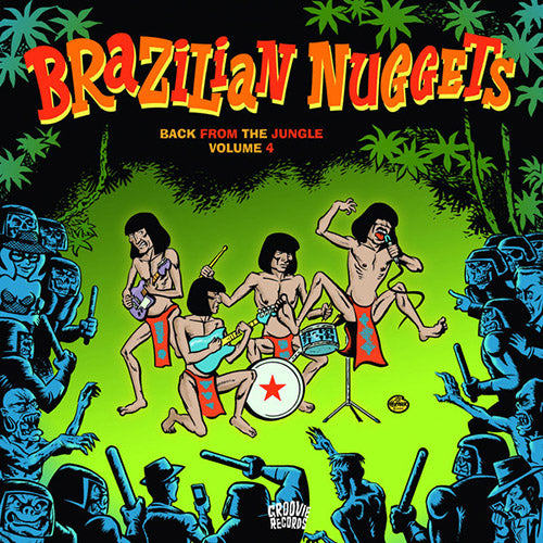 Brazilian Nuggets Vol.4 - LP compilation