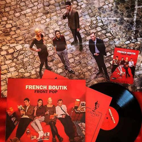 FRENCH BOUTIK - Front Pop - LP (available in diff. colors)