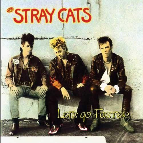 STRAY CATS - Let's Go Faster - LP