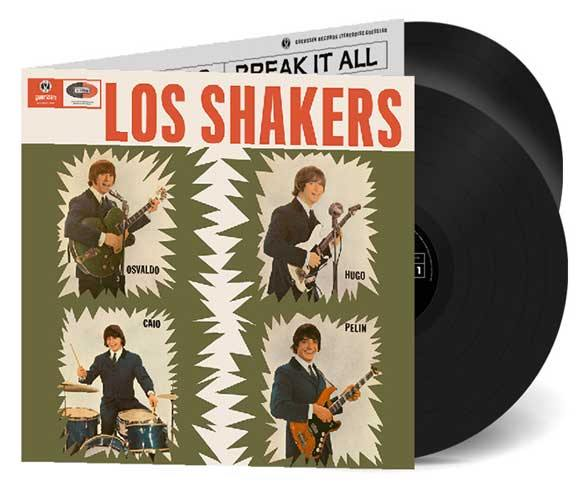 LOS SHAKERS - Los Shakers / Break It All - DoLP gatefold