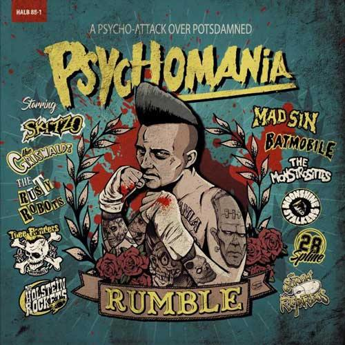 Various - PSYCHOMANIA RUMBLE - LP (col. vinyl)