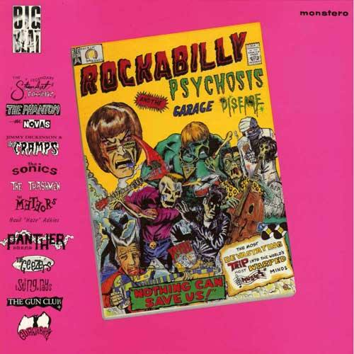 Various - ROCKABILLY PSYCHOSIS AND THE GARAGE DISEASE - LP