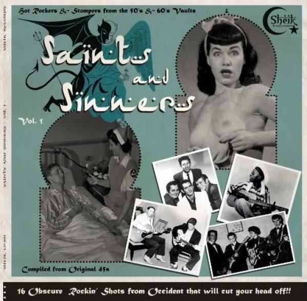 Various - Saints and SInners - LP compilation