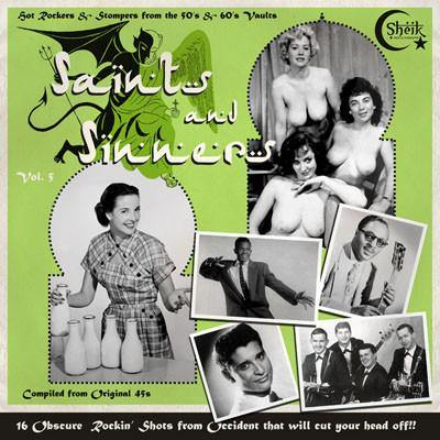 Various - Saints and Sinners Vol. 5 - LP