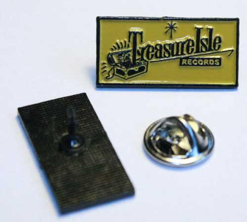 metal pin - TREASURE ISLE