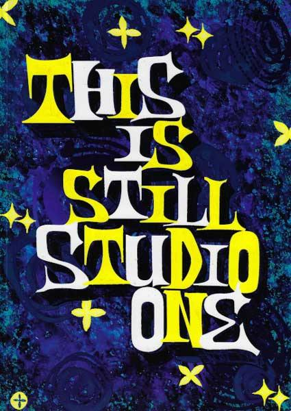 THIS IS STILL STUDIO ONE - book (english)