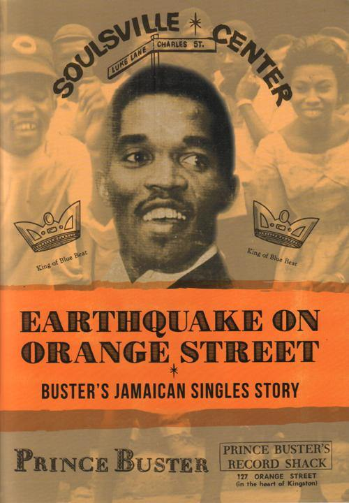 Earthquake On Orange Street - Prince Buster discography - paperback 55 pages