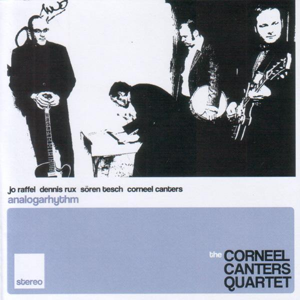 Corneel Canters Quartet - Analogarhythm - 3-track CD