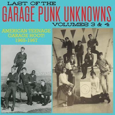 Various - Last Of The Garage Punk Unknowns Vol.3&4 - CD