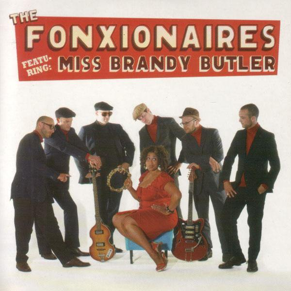 Fonxionaires feat. Brandy Butler - Gin & Tonic - 3-track CD