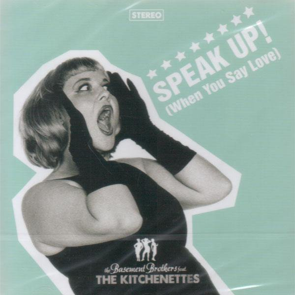 The Kitchenettes - Speak Up! - CD