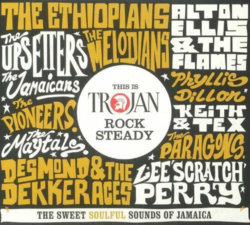 Various - This is TROJAN Rock Steady - 2CD