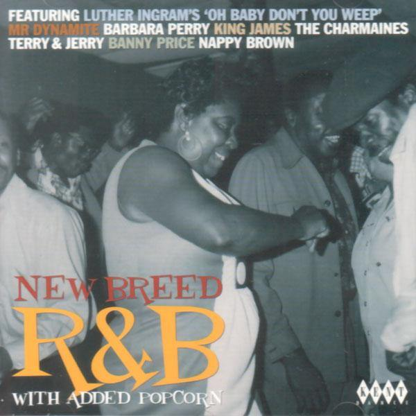 Various - NEW BREED R&B WITH ADDED POPCORN - CD