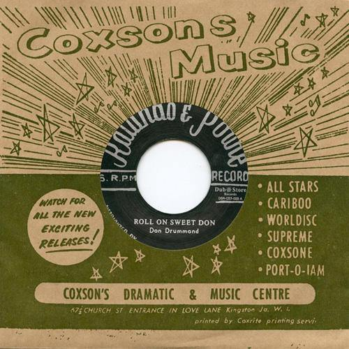 Don Drummond - Roll On Sweet Don - 7""