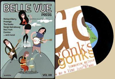 Belle Vue - issue 8 + The Gonks 7""