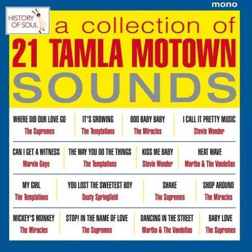 Various - A Collection Of 21 Tamla Motown Sounds, Live In Europe 1965 - LP
