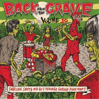 Various - Back From The Grave Vol.10 - LP