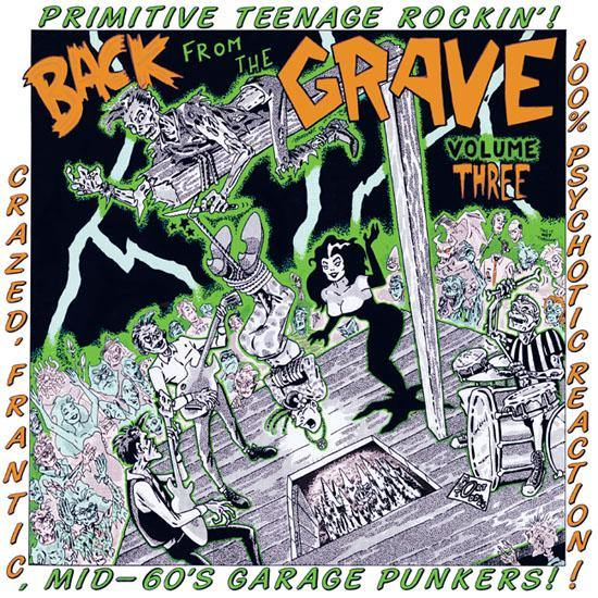 Various - Back From The Grave Vol.3 - LP